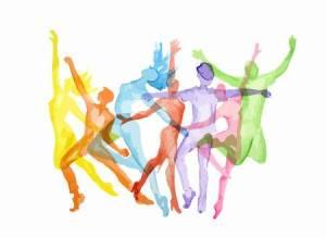 66471753-la-danza-de-la-acuarela-fijadas-en-el-fondo-blanco-actitudes-de-la-danza-estilo-de-vida-saludable-ob